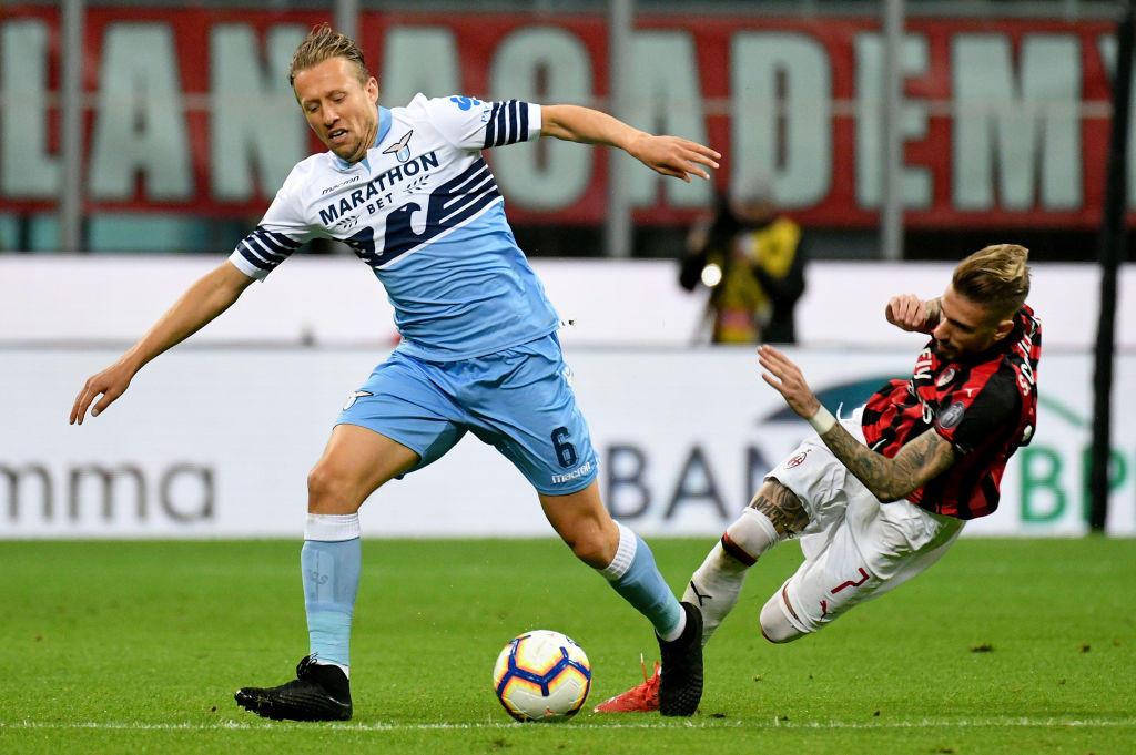 La sfida di San Siro tra Milan e Lazio in foto.