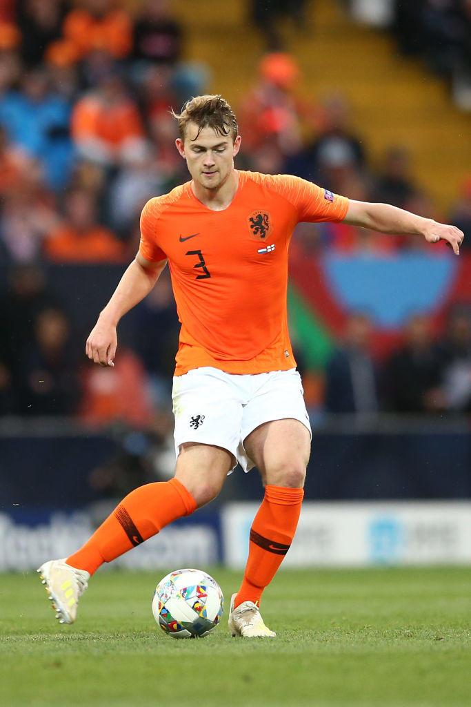 1) Matthijs De Ligt (Ajax)