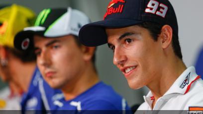 Lorenzo e Marquez foto MotoGP