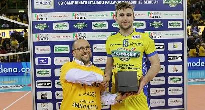 MVP: Uros Kovacevic, foto da Pallavolomodena.com