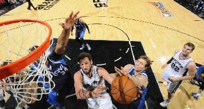 Nba, playoff: tonfo Spurs, Heat e Blazers sul 2-0