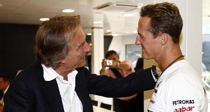 Montezemolo e Schumacher (IPP)
