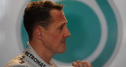 Schumacher continua a lottare