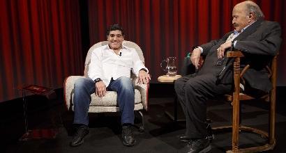 """Maradona:""""Icardi è un traditore e pagherà"""""""