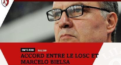 Bielsa riparte dal Lille:allenerà da luglio<br />