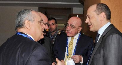 L'Inter e le altre big lasciano l'assemblea di Lega. Galliani: