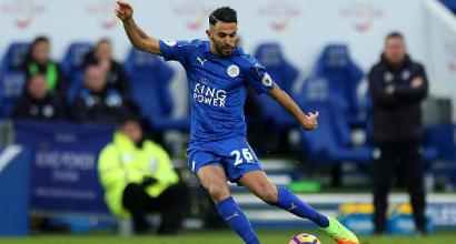 Roma, il Leicester non molla Mahrez