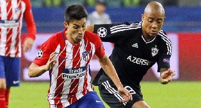 Champions League: Atletico bloccato dal Qarabag