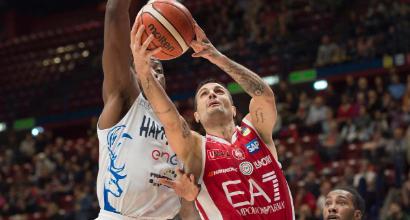 Basket, Serie A: Milano cala il poker, Reggio Emilia e Trento ko