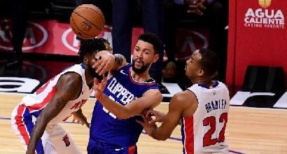 Nba, cadono i Clippers di Gallinari