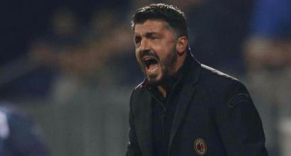 """Rijeka-Milan 2-0, Gattuso: """"Siamo fragili, non sappiamo reagire"""""""