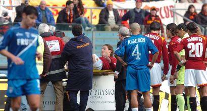 """Mariani: """"Totti ha 8 viti nella caviglia dal 2006"""""""