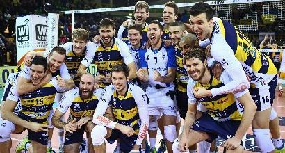 Volley, SuperLega: Modena e Trentino tornano in corsa nelle semifinali