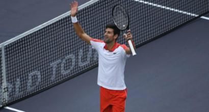 Tennis, Shanghai Masters: Cecchinato ko, Djokovic si prende la rivincita