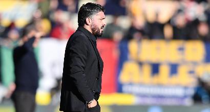 """Milan, Gattuso: """"Sono il capitano della barca e mi prendo tutte le responsabilità"""""""