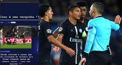 Champions, insulti social al Var di Psg-United: la Uefa mette Neymar sotto inchiesta