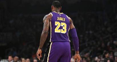 LeBron, che flop. Ora rivoluzione Lakers