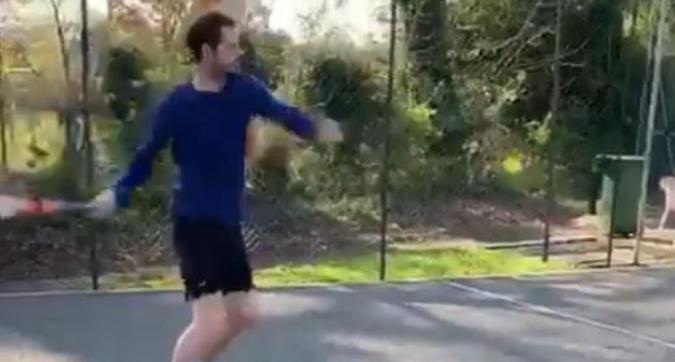 """Murray riprende la racchetta in mano: """"Mi piacerebbe tornare"""""""