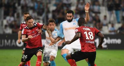 Ligue 1: il Marsiglia sbanca Guingamp, 3-1 al Roudourou