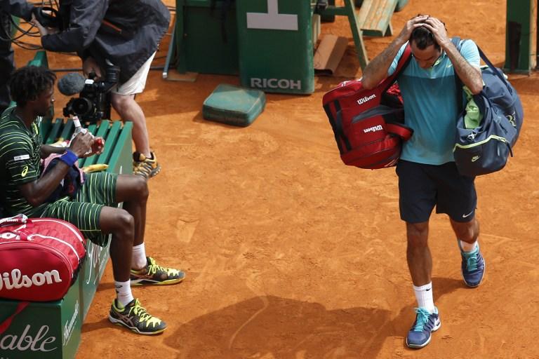 Federer saluta Montecarlo. Eliminato da Monfils