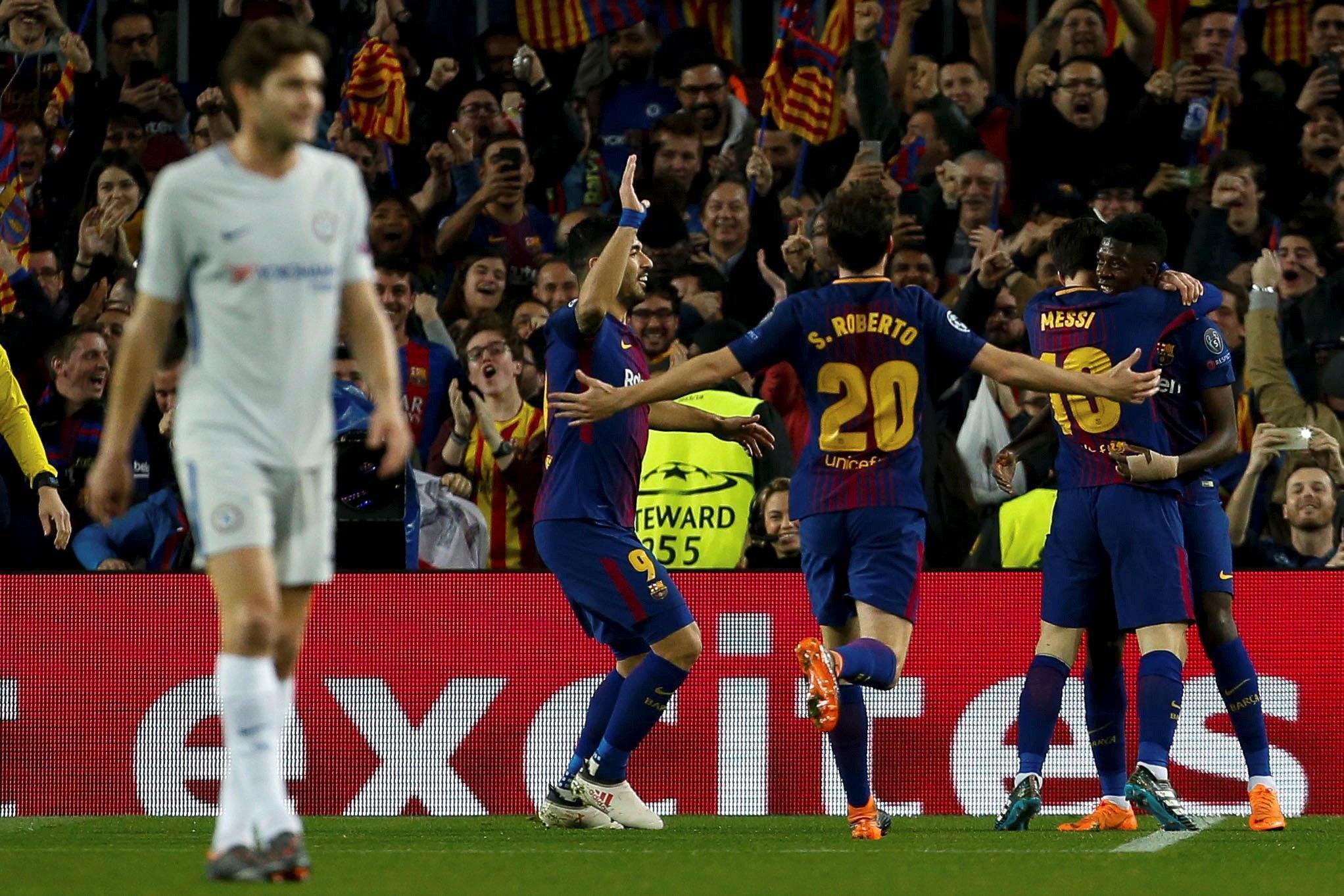Champions: super-Messi porta il Barça ai quarti