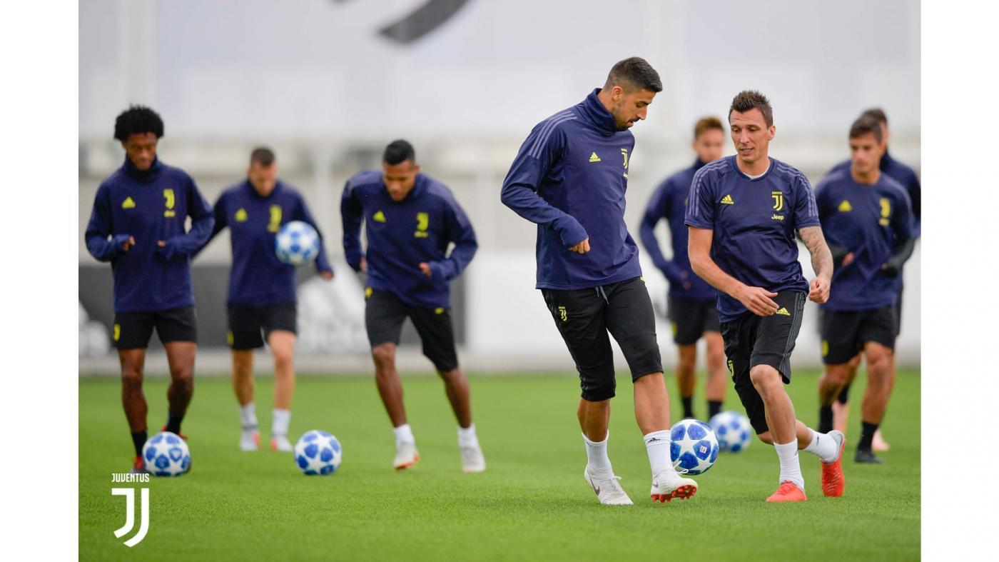 Juventus, contro lo Young Boys si rivede Khedira