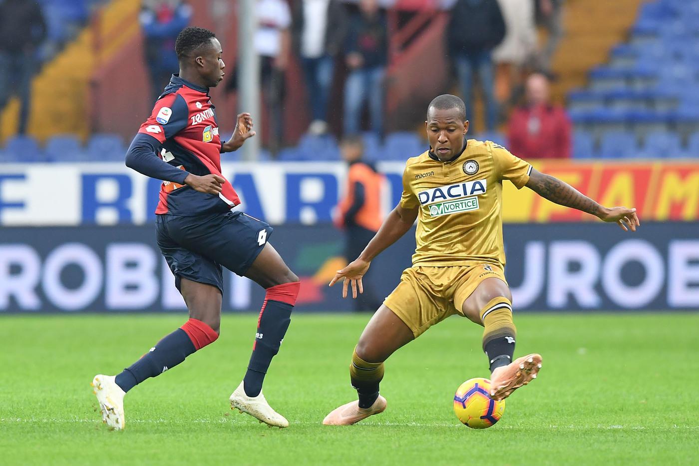 Genoa-Udinese, pari spettacolo a Marassi