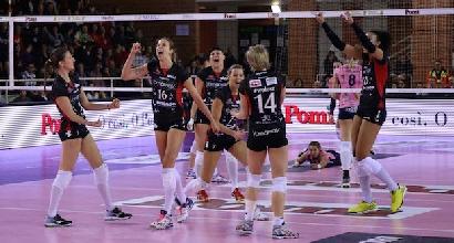 Volley, A1 donne: colpo Busto, tutto facile per Modena