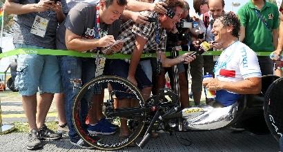 Rio 2016: Zanardi d'argento nella prova in linea