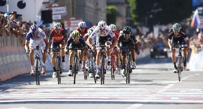 """Giro d'Italia, Jungels: """"Giornata pazza, tappa veloce, sprint perfetto"""""""