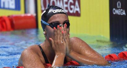 Nuoto, Quadarella bronzo nei 1500sl