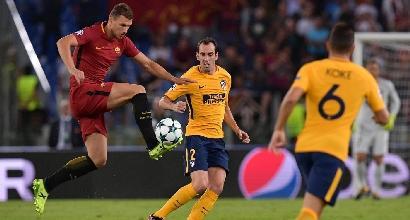 """Roma, il grido di dolore di Dzeko: """"Senza Salah e Totti..."""". Ma poi si ravvede: """"Avanti così"""""""