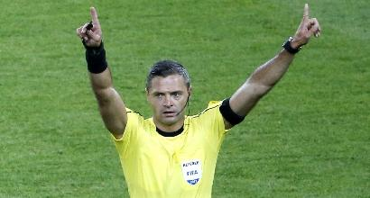 Champions: lo sloveno Skomina arbitra Chelsea-Roma, l'inglese Oliver per la Juve