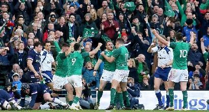 Rugby, l'Irlanda vince il Sei Nazioni