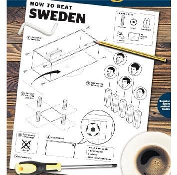 """Mondiali 2018, il Times: """"Ecco come si batte la Svezia"""". Istruzioni in stile Ikea"""