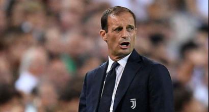 "Juventus, Allegri: ""Vittoria importante. Il Var non avrebbe espulso Ronaldo"""