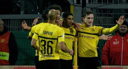 Coppa di Germania: Borussia Dortmund beffato dal Werder Brema ai rigori, anche il Bayer Leverkusen ko