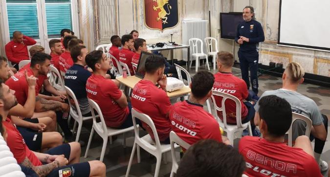 Genoa: Prandelli riunisce la squadra, i protagonisti della lite si scusano