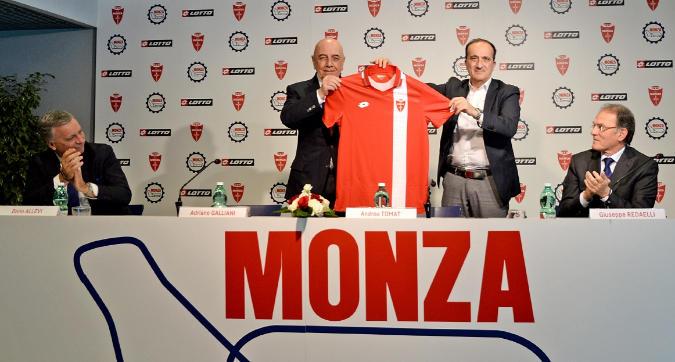 Il Monza veste Lotto: ecco le nuove divise