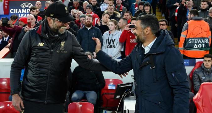 """Porto-Liverpool, Conceiçao: """"Ci servirà equilibrio per fare un'impresa storica"""". Klopp: """"Qualificazione aperta"""""""