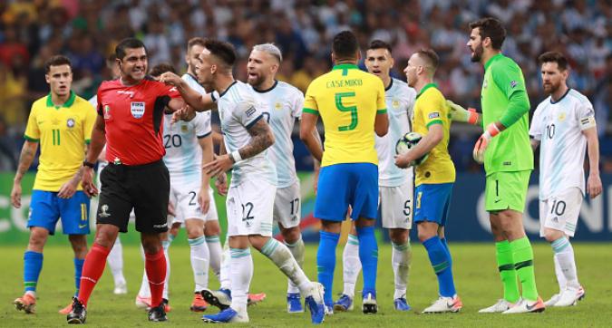 Copa America, Argentina furiosa: