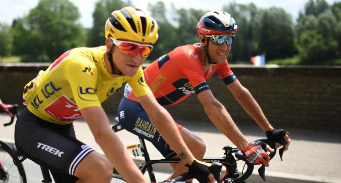 Tour de France, ottava tappa: impresa di De Gendt, Alaphilippe torna in giallo, Nibali crolla