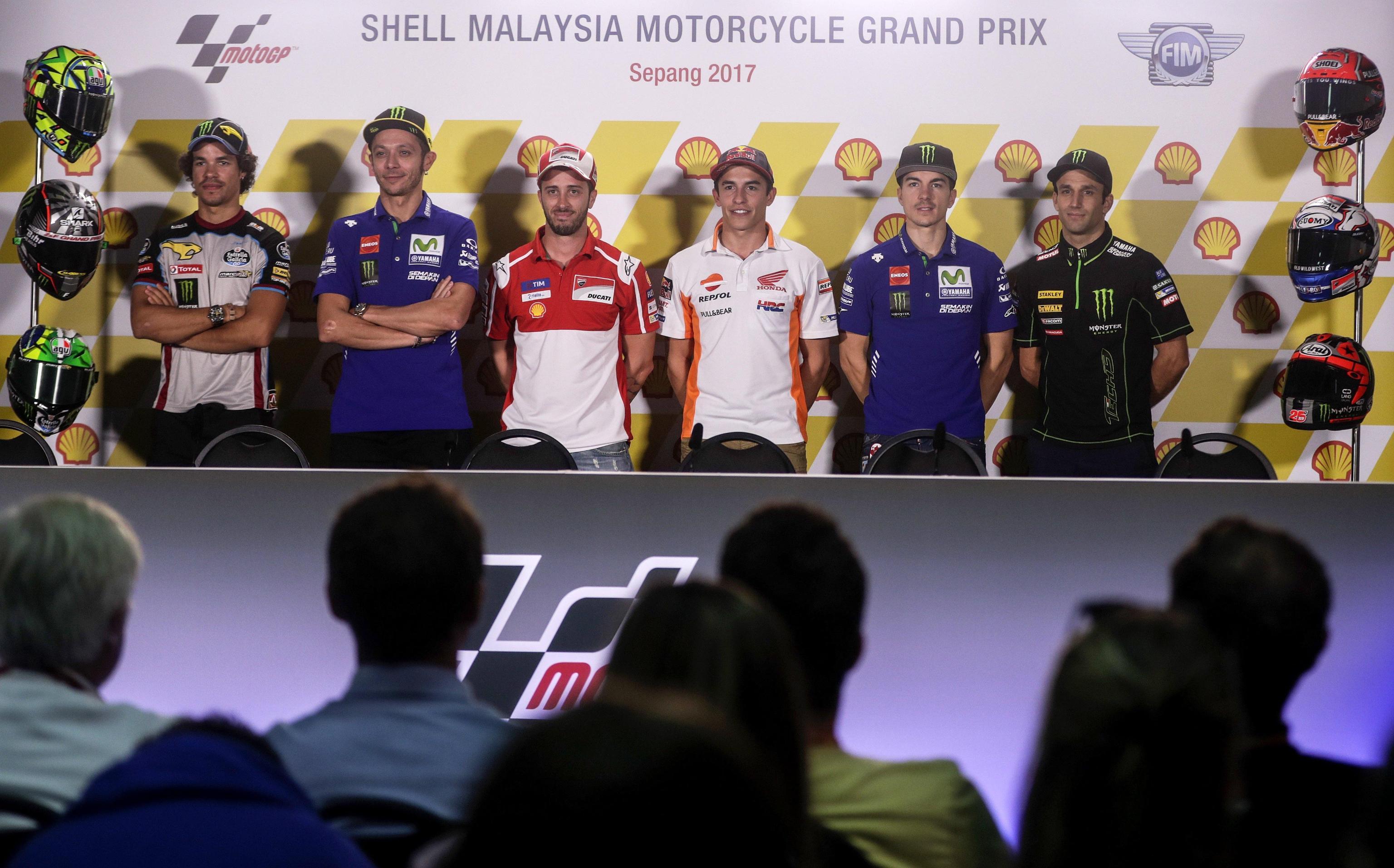 MotoGP, il giovedì di Sepang con Marquez, Dovi e Morbidelli