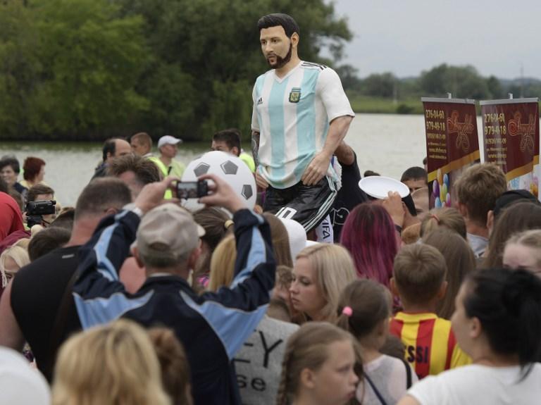 Mondiali 2018: ecco la torta... Messi