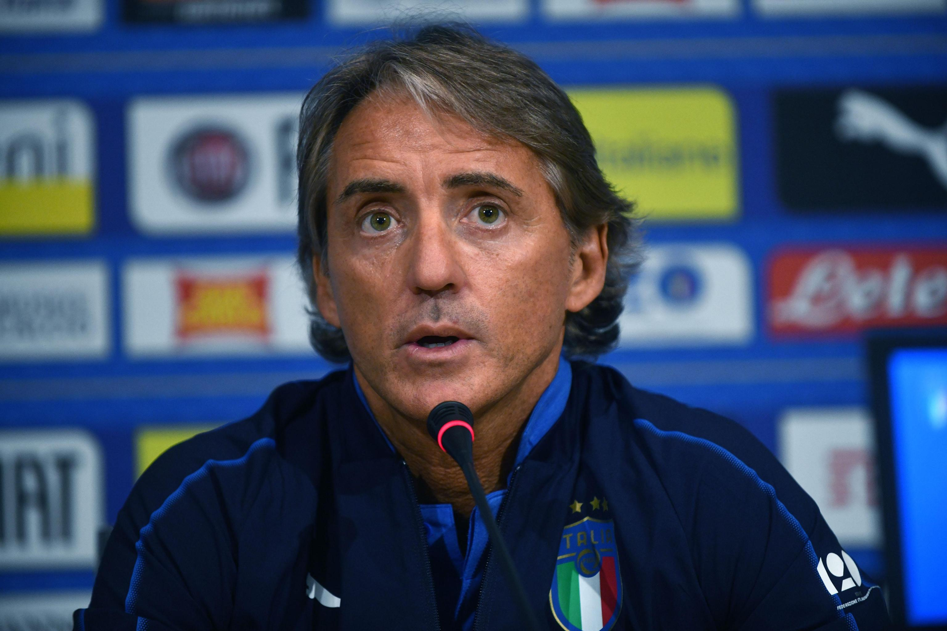 <p>Mancini esordisce con l'Italia in una gara ufficiale al Dall'Ara da ct come avvenne da giocatore con il Bologna.</p>