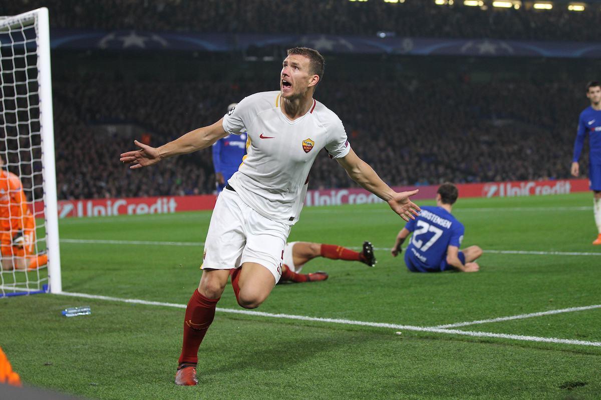 Dzeko, gennaio 2018: la Roma lo ha in pratica ceduto al Chelsea ma il bosniaco fa saltare tutto