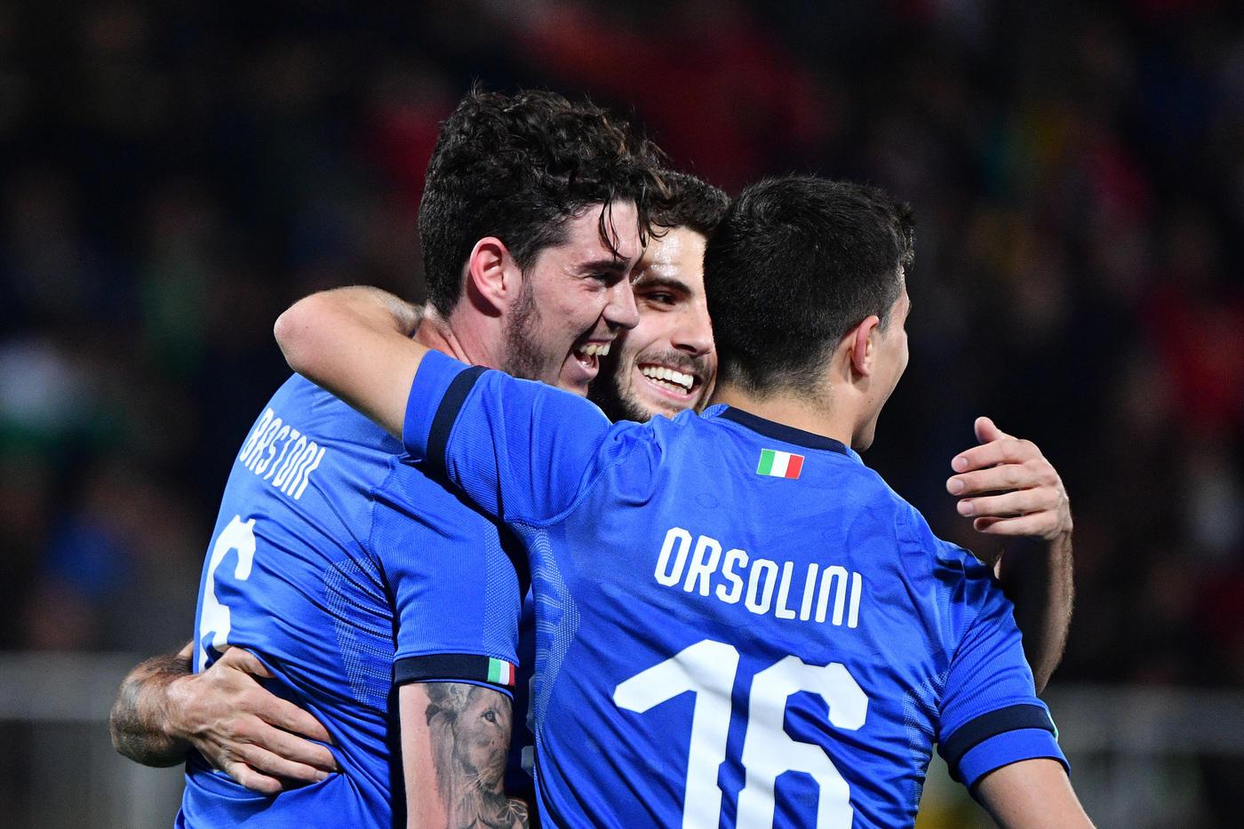 Le immagini dell'amichevole tra Italia e Croazia Under 21 finita 2-2