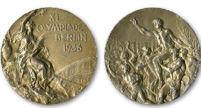 Le medaglie di Owens (La Presse)