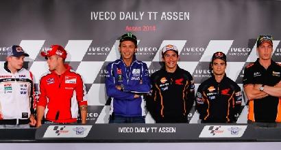 Rossi e Marquez foto MotoGP.com