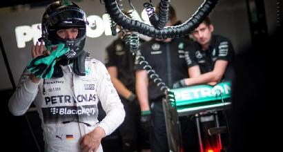 F1, Rosberg è il più veloce nelle libere 3 di Sochi